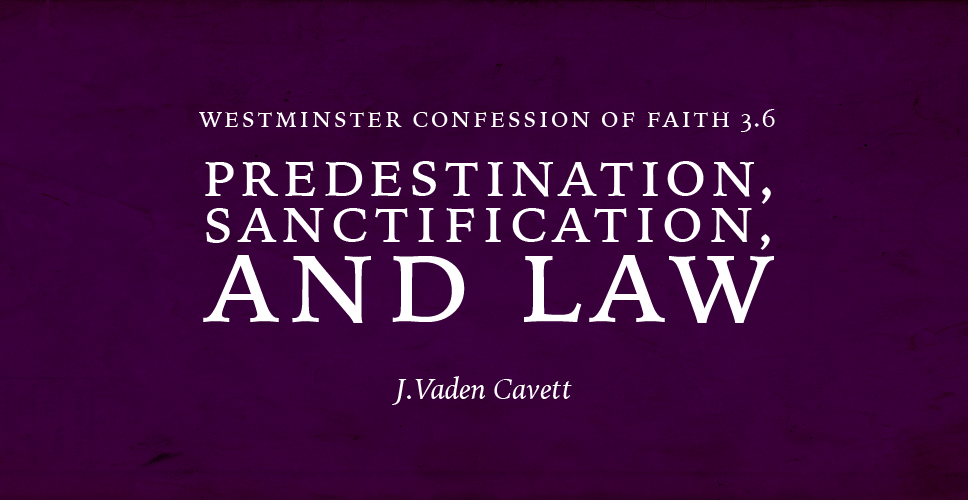 WCF 3.6 – Predestination, Sanctification, and Law